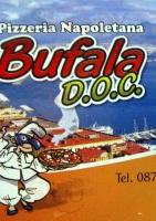 Menu BUFALA DOC