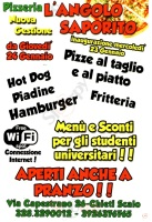 Foto del menù di L'ANGOLO SAPORITO