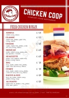 Menu Chicken Coop