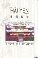 Menu HAI YEN