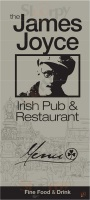Menu JAMES JOYCE