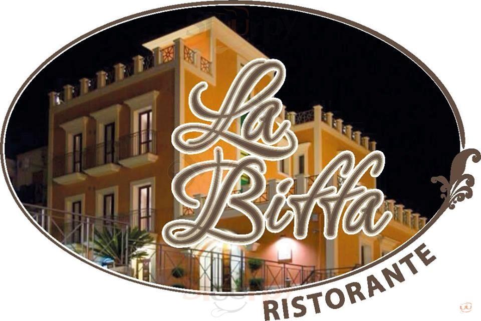 LA BIFFA Benevento menù 1 pagina