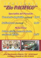 Menu ZIO PACIFICO