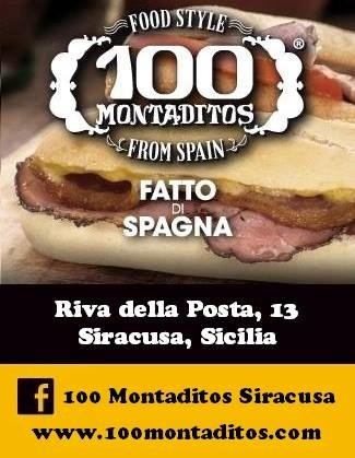 100 Montaditos  Siracusa menù 1 pagina