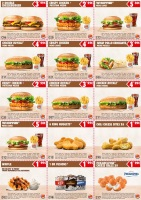 Menu BURGER KING - Pisa