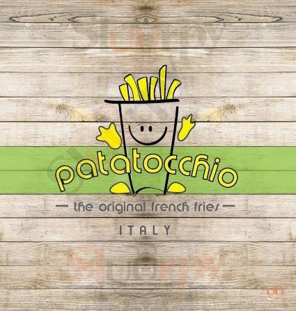 PATATOCCHIO - Napoli, Via Toledo Napoli menù 1 pagina