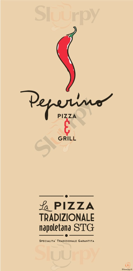 PEPERINO PIZZA - Udine Udine menù 1 pagina