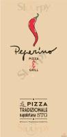 Menu PEPERINO PIZZA - Udine