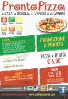 Menu PRONTO PIZZA - Seriate