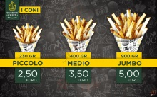 Menu QUEEN'S CHIPS - Pomezia