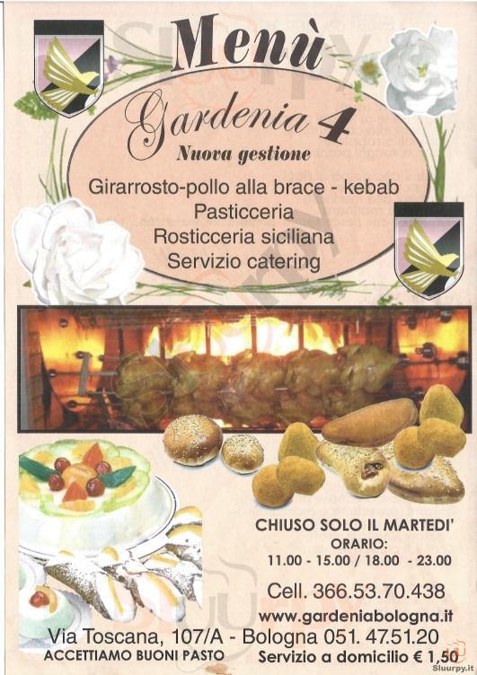 Gardenia 4 bologna sfoglia il men originale for Il rosso bologna menu