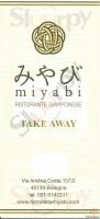 Menu Miyabi