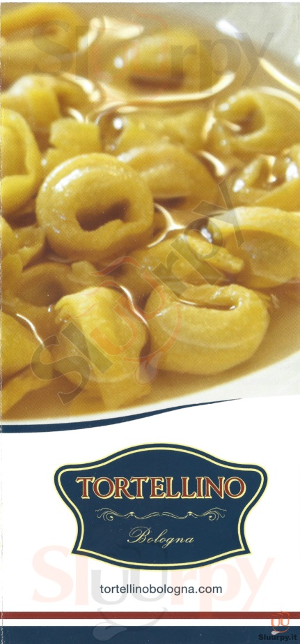 Tortellino Bologna menù 1 pagina
