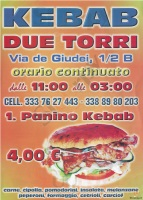 Menu DUE TORRI