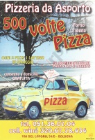 Menu 500 Volte Pizza