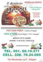 Menu IL DESIDERIO DELLA PIZZA