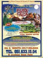 Menu PIZZA CASA, Via San Donato