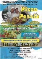 Menu PIZZA PASSIO'