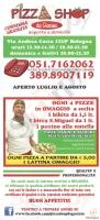 Menu PIZZA SHOP