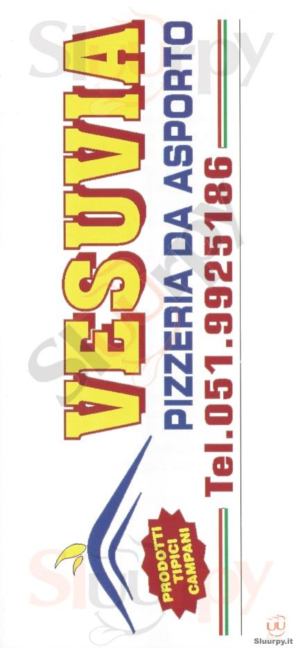 VESUVIA Bologna menù 1 pagina