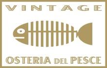 Menu Vintage Osteria del Pesce