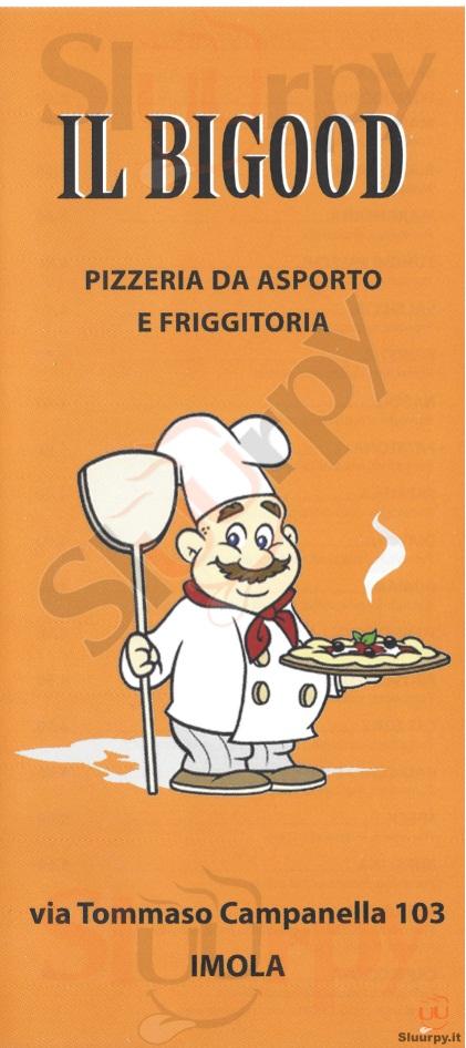 IL BIGOOD Imola menù 1 pagina