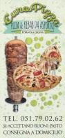 Menu EURO PIZZA