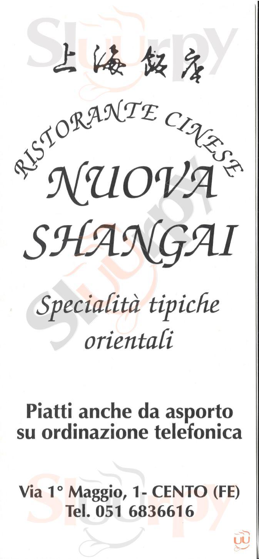 Nuova Shangai Cento menù 1 pagina