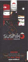 Menu SUSHIKO