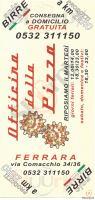 Menu OFFICINA DELLA PIZZA