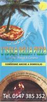 Menu L'ISOLA DELLA PIZZA