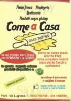 Foto del menù di COME A CASA
