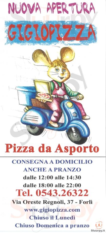 GIGIOPIZZA Forlì menù 1 pagina