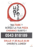 Menu HOTSPOT PIZZA