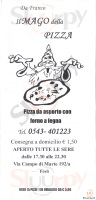 Foto del menù di IL MAGO DELLA PIZZA