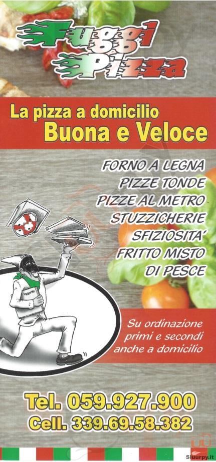 FUGGI PIZZA Castelfranco Emilia menù 1 pagina