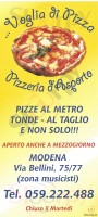 Menu VOGLIA DI PIZZA
