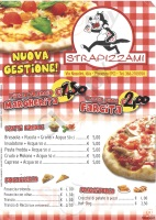Menu STRAPIZZAMI