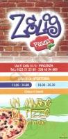 Menu ZELIG PIZZA