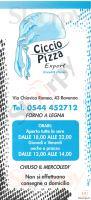 Menu CICCIO PIZZA