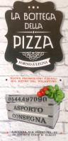 Menu LA BOTTEGA DELLA PIZZA