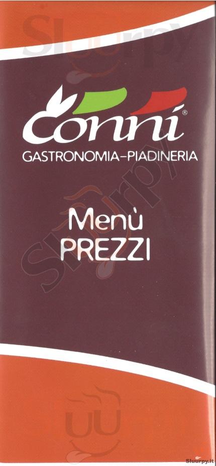 CONNI EXPRESS Riccione menù 1 pagina