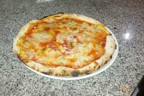 pizza zola e cipolle