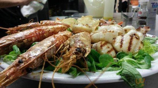 Il nostro piatto unico per il pranzo il pesce
