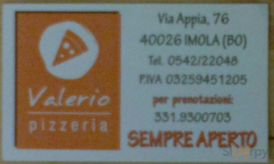 Pizzeria Valerio S.A.S