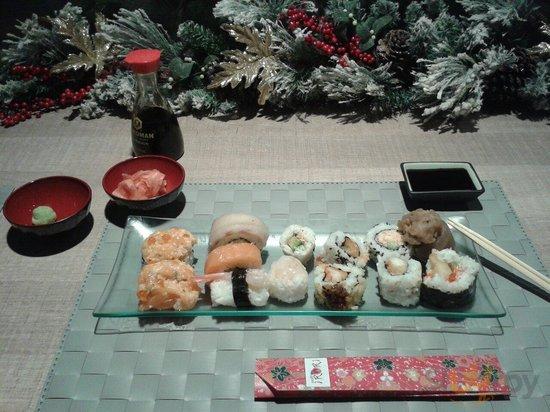 Misto di uramaki scelti uno ad uno, a mio piacimento! :)