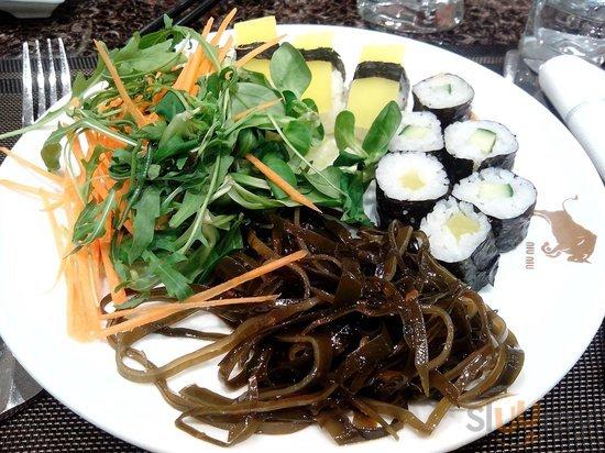 NIU NIU sushi wok