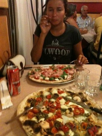 Ibiza and genova pizza