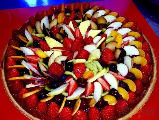 Crostata di ricotta ,è frutta!!!!!