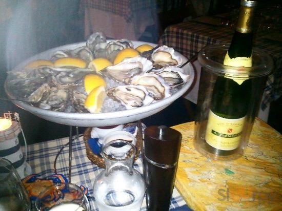 degustazione di ostriche con vino alsaziano